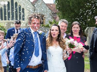 Juliette & Pete Church Wedding